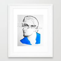 leonardo Framed Art Prints featuring Leonardo by Eva BF