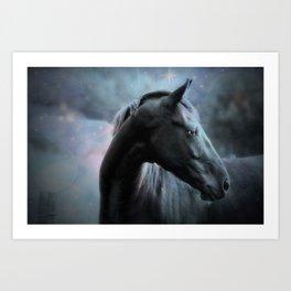 Horse Dreams Art Print