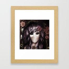 Flower Anime Art Framed Art Print