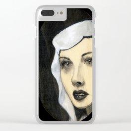 Hedy Lamar Clear iPhone Case