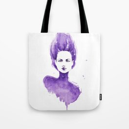 Purple Water Faery Tote Bag