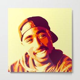 Tupac iii Metal Print