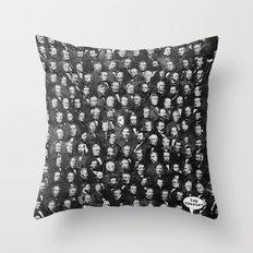 Distinguished Gentlemen  Throw Pillow