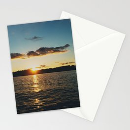 Sunset over Lake of the Ozarks  Stationery Cards