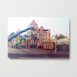 Kids Play Ground - Series 5 Metal Print
