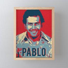 Pablo Escobar Hope Pop Art Framed Mini Art Print