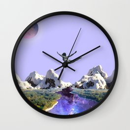 Falling in love Wall Clock