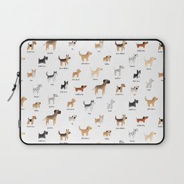 Lots of Cute Doggos - With Names Laptop Sleeve