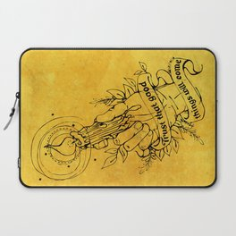 Candle Light Hope (Yellow Colors) Laptop Sleeve
