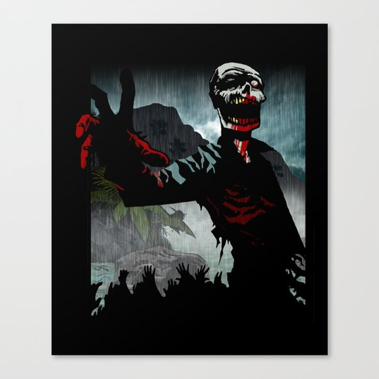 A Cold Welcome Canvas Print