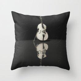 Contrabass Throw Pillow