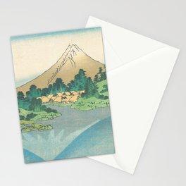 Katsushika Hokusai - Mt Fuji Reflection Stationery Cards