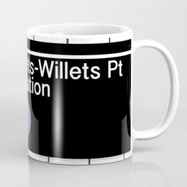 NYC Mets Subway Coffee Mug