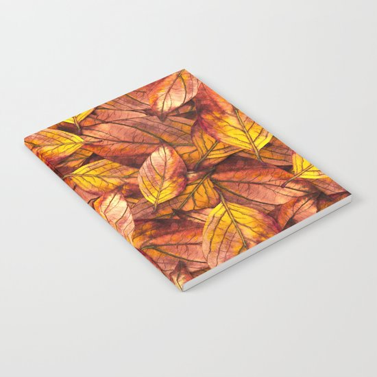 Autumn Leaves 03 Notebook