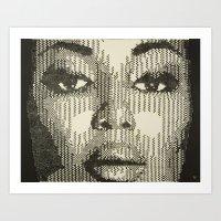 Patterns of Beauty - Naomi Art Print