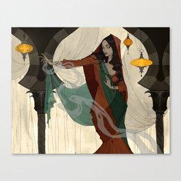 The Vizier's Daughter Canvas Print