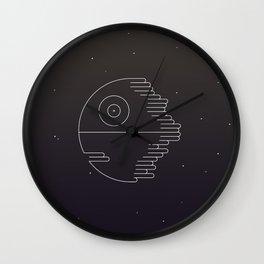 MINIMALIST_DeathStar Wall Clock
