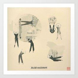 Acid-Resistant Art Print