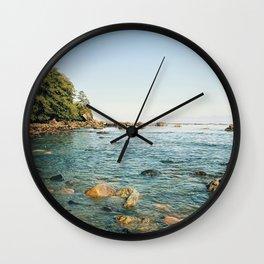 Strait of Juan de Fuca Wall Clock