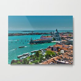 The Saint Mark Basin - Venice, Itay Metal Print