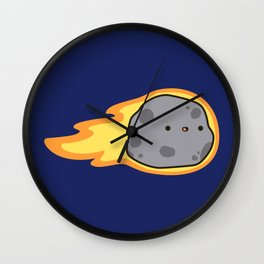 Cute comet Wall Clock