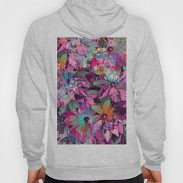 Floral abstract 84 Hoody