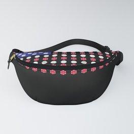 American Flag | Funny Gambling Gift Fanny Pack