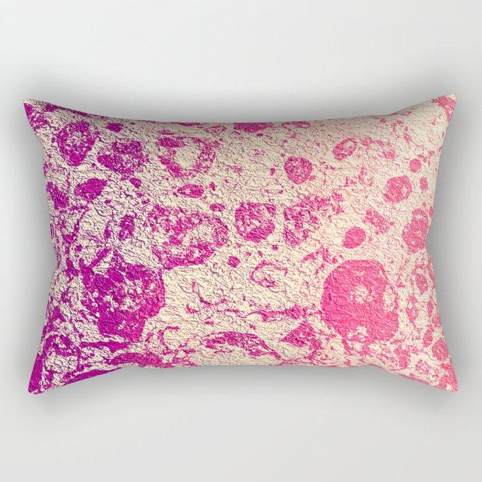 Tropical Smoothie Crinkles Rectangular Pillow
