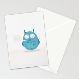 That was a hoot! Stationery Cards