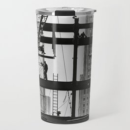 Steel workers New York City Travel Mug