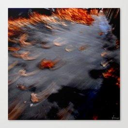 autumn, flies away Canvas Print