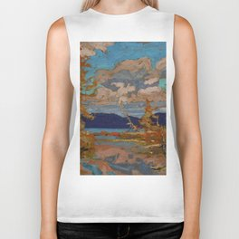 Tom Thomson The Lake, Bright Day 1916 Canadian Landscape Artist Biker Tank