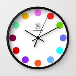 Robert Hirst Spot Clock 9 Wall Clock