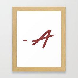 - A Framed Art Print