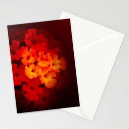 Warm Lantana Stationery Cards