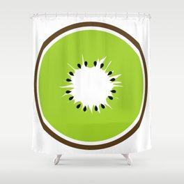 Slice of Kiwi Shower Curtain