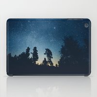 astronomy iPad Cases featuring Follow the stars by HappyMelvin