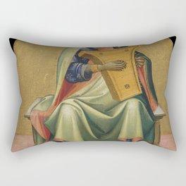 Lorenzo Monaco - David Rectangular Pillow