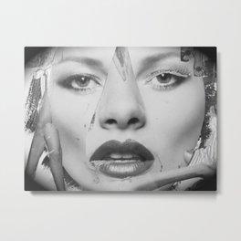 Ladylike Metal Print