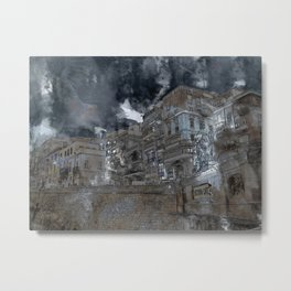 Grand harbour hotel Valletta Metal Print
