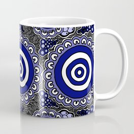 Authentic Aboriginal Artwork - Connections Coffee Mug