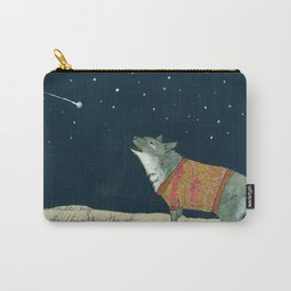 Dogs in Sweaters Barking at S Carry-All Pouch