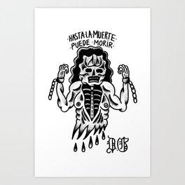 even death can die Art Print