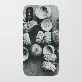 Acorns iPhone Case