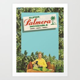 Super Palmera Art Print