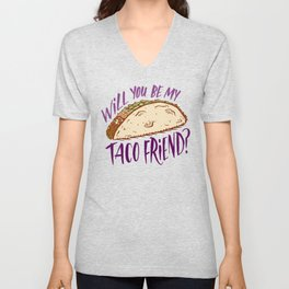 Taco Friend Unisex V-Neck