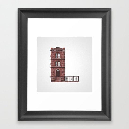 The Letter L Framed Art Print
