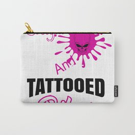 Cool and sexy tattooe Carry-All Pouch