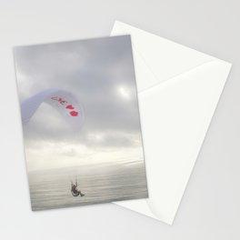 """Paraglider 4"" by Murray Bolesta Stationery Cards"