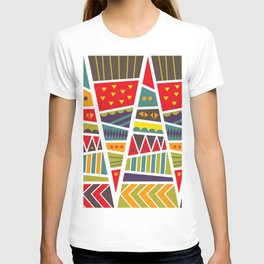 pyramids up and down T-shirt
